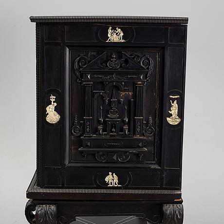 Kabinettskåp, barockstil, 1800-tal.