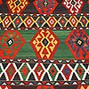 A carpet, antique caucasian kilim, ca 252 x 195 cm.