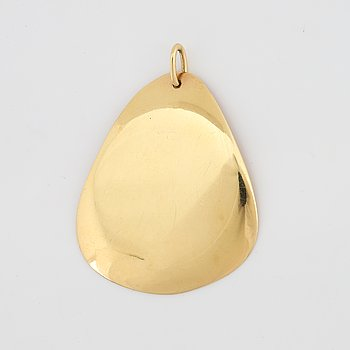 Efva Attling, 18K gold pendant.