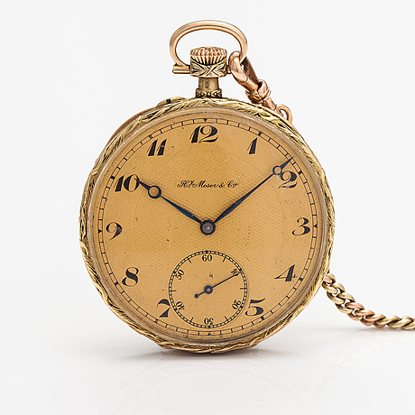Hy. moser & cie, fickur, 50 mm.