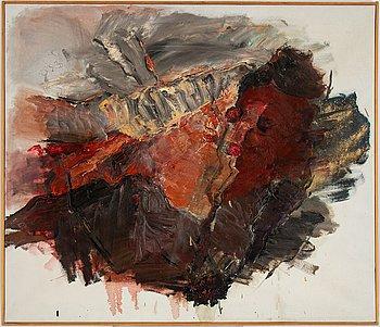 Ingegerd Möller, oil on canvas. Unsigned.