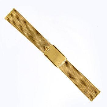 Klockarmband, 18K guld ca 48 g.
