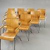 Artifort, stolar, 10 st, 1900-talets andra hälft.