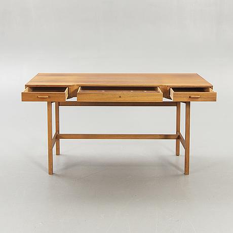 Desk, walnut, 1960s.