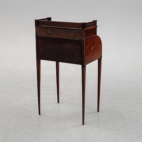 An empire style mahogany  secretaire, 19th century.