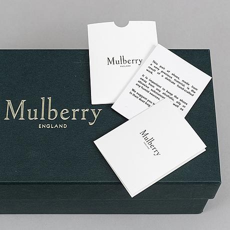 "Mulberry, sandaler, ""opera buckle slide"", storlek 39."