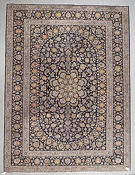 A carpet, Kashan, ca 410 x 310 cm.