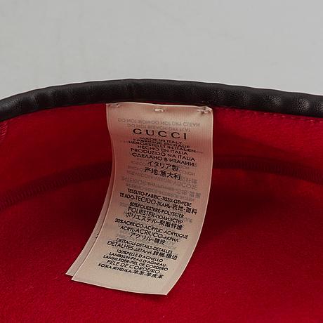 Gucci, a beret, size m 54 cm.