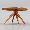 A model 579-032 futura coffee table by david rosén for nordiska kompaniet.