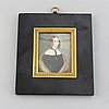 Okänd konstnär, 1800-tal. miniatyr. osignerad.