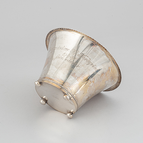 Gab, skål, silver, stockholm 1929.