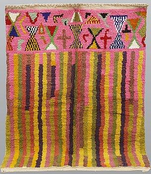 A rug, Morocco, ca 227 x 156 cm.