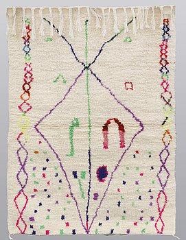 A carpet, Morocco, ca 150 x 104 cm.
