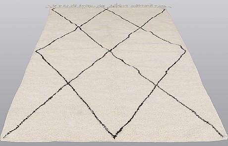 A rug, morocco, ca  ca 254 x 171 cm.