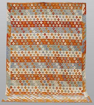 A carpet, kilim, ca 298 x 214 cm.