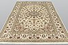 A carpet, kashan, ca 306 x 200 cm.