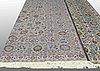 A carpet, kashan, ca 590 x 418 cm.