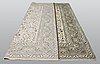 A carpet, kashan, ca 389 x 295 cm.