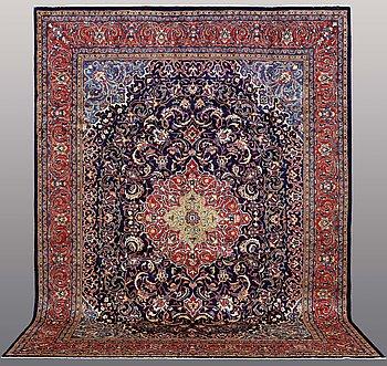 A carpet, Kashmar, ca 395 x 306 cm.