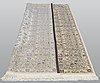 A carpet, kashan, ca 303 x 200 cm.