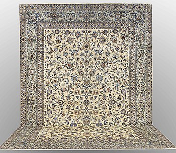 Matta, Keshan, ca 474 x 320 cm.