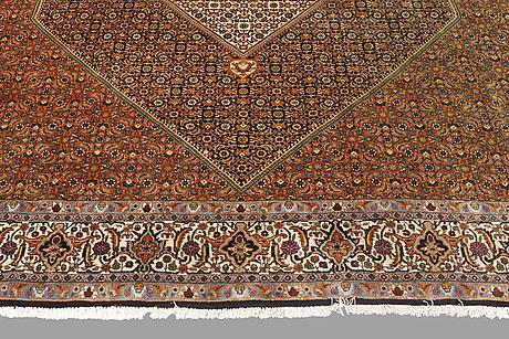 A carpet, bidjar, ca 256 x 256 cm.