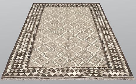 A carpet, kilim, ca 248 x 163 cm.