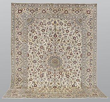 Matto, Kashan, ca 398 x 300 cm.