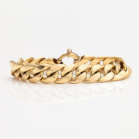 Armband, 18k guld. italien.