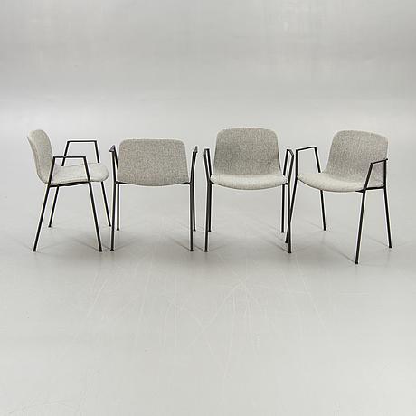 "Hay, chairs, 6 pcs, ""aa19"", hee welling."