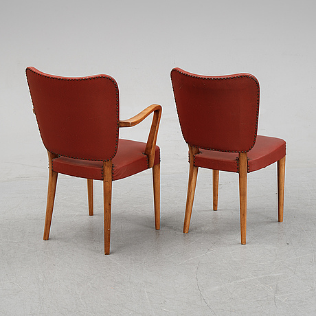 A set of six chairs from nordsisk kompaniet.