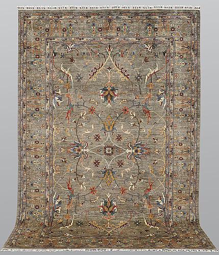A carpet, ziegler design, ca 307 x 207 cm.