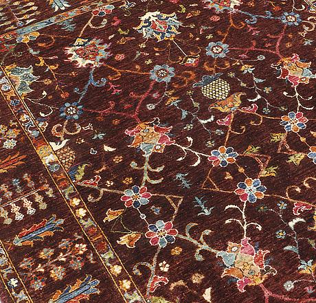 A carpet, ziegler design, ca 252 x 177 cm.