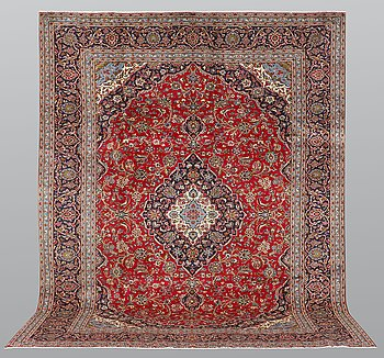 Matta, Keshan, ca 385 x 300 cm.