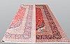 A carpet, kashan, ca 401 x 302 cm.