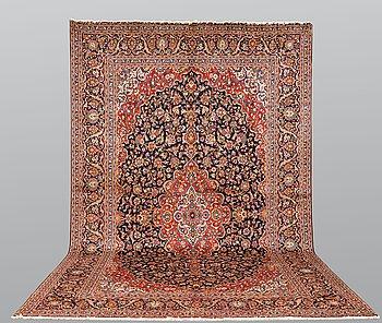 Matto, Kashan signed, ca 482 x 305 cm.