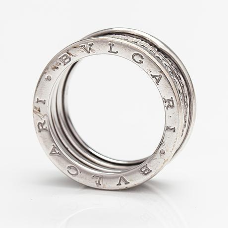 Bvlgari, an 18k white gold ring, b.zero1, with brilliant cut diamonds ca 0.62 ct in total.
