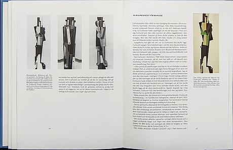 Oscar reutersvärd mapp / bok  'otto g carlsund i fjärrperspektiv', bibliophile edition 93/199.