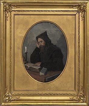 Clara Löfgren, ascribed to oil on canvas,