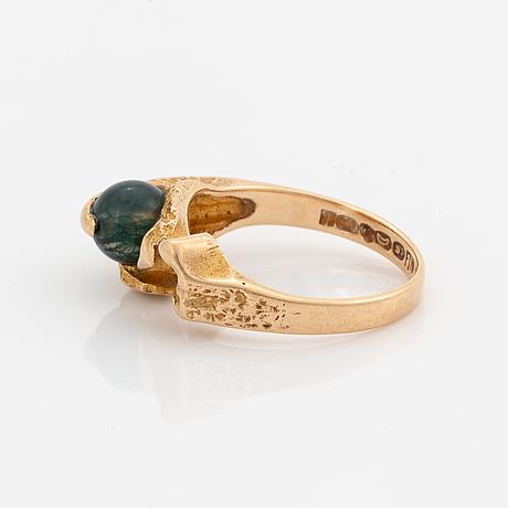 Björn weckström, halssmycke + ring, guld, lapponia.