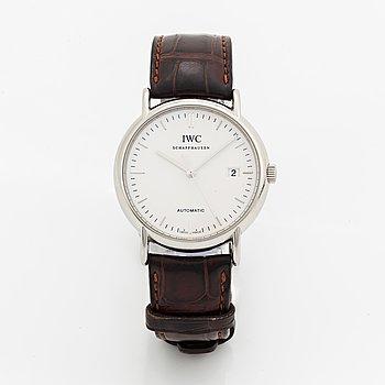IWC, Schaffhausen, Portofino, wristwatch, 38 mm.