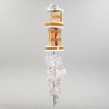 Ingo Maurer, a ceiling lamp model 'Birds Birds Birds'.
