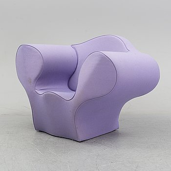 A 'Big Easy' chair by Ron Arad for Moroso designed 1999.