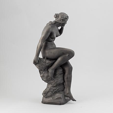 A ceramic sculpture, p. ipsen , denmark, early 20th century.