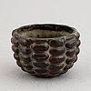 Axel salto, a stoneware bowl, royal copenhagen, denmark.