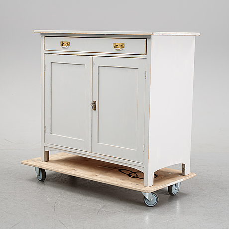 A conrtemporary painted cupboard.