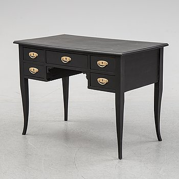 A painted writing desk, early 20th Century.