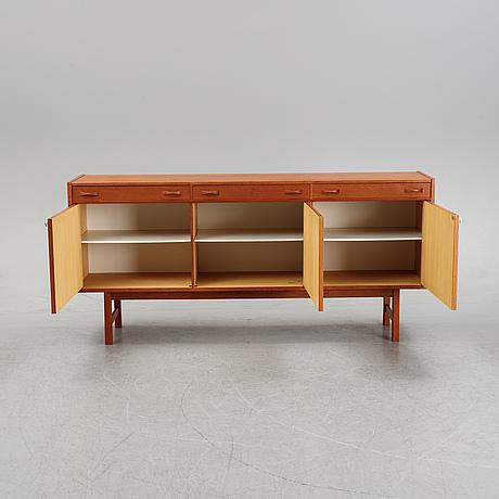 A teak veneered sideboard from ulferts, second half of the 20th century.