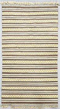 A Swedish flat weave carpet ca 180 x 100 cm.