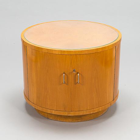 A mid-20th century bar cabinet /bar table.